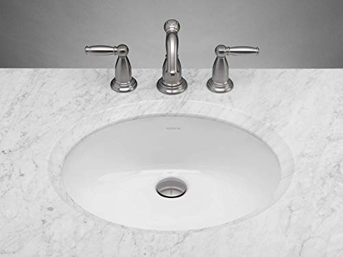 RONBOW Halo 20 Inch Oval Undermount Ceramic Vessel Bathroom Vanity Sink in White 200513-WH
