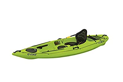 Evoke Vue 100 Sit On Recreational Kayak, Citron