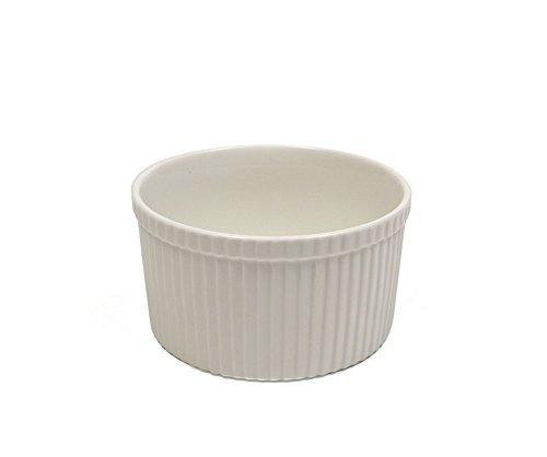 "White Basics Collection, Souffle Dish, 5.75"", White"