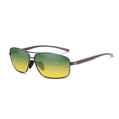 Hombre De Clásicas De HD Para UV400 De De Sol De Aluminio Mujer Día Sol Lujo HAIYING Polarizada Sol De Gafas Gafas Sol Sol Gafas Gris De Color Zinc Conducción Gafas De Gafas Aleación Y De De Noche De ZwIqztBU