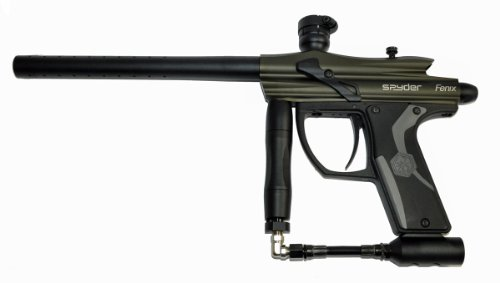 Spyder Fenix Electronic Paintball Marker Gun - Olive Green (Used)