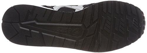 9096 Grey da Asics Blackglacier Scarpe Lyte Trainer Running Uomo Nero r668zxtw