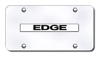 Ford Edge Logo Front License Plate