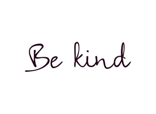 Be Kind Temporary Tattoo, Set of 2, Size 2