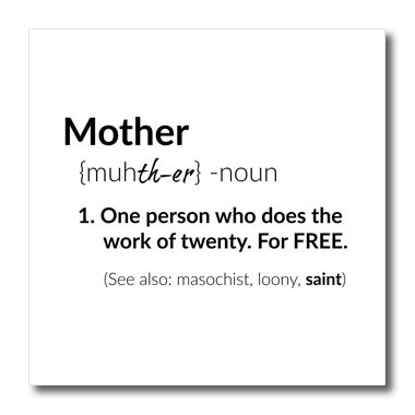 Amazon 60dRose Xander Funny Quotes Definition Of Mother Black Simple Quotes Definition