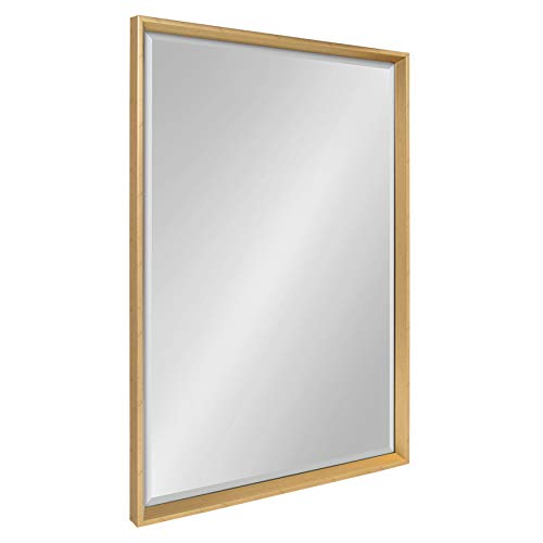 Kate and Laurel Calter Framed Wall Mirror, 25.5x37.5, - Bathroom Mirrors Discount