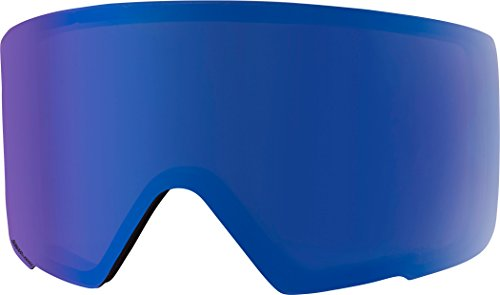 Anon M3 Sonar Goggle Lens, Sonar Blue (Best Ski Goggles For Whiteout Conditions)