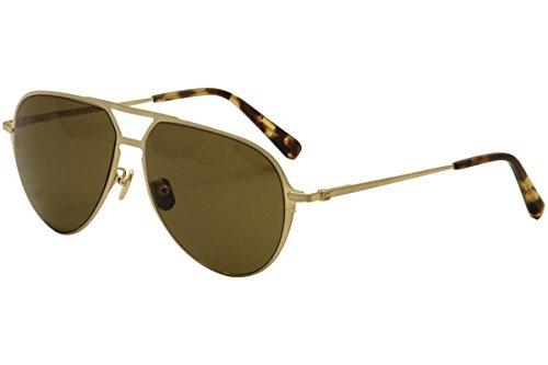 Sunglasses Brioni BR0011S BR 0011 11S S 11 003 GOLD / BROWN / - Sunglasses Brioni