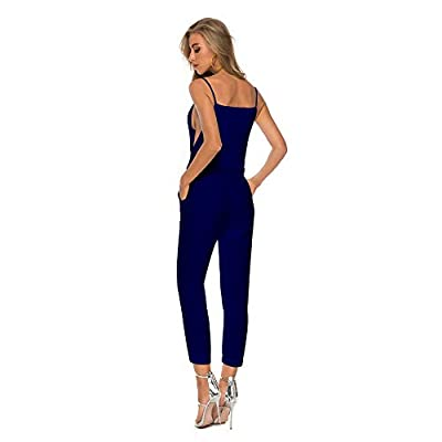 Women's Casual Jumpsuits Overalls Baggy Bib Harem Pants Playsuit Trousers Cotton Linen Dungarees: Clothing