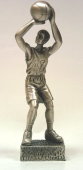 (Basket Ball Player Statue - 5 Inch Tall (Item # 1151))