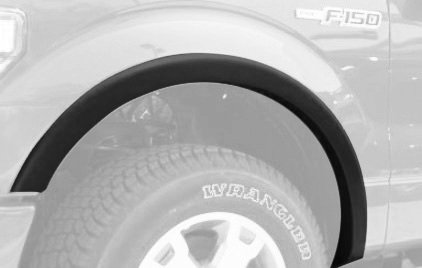 2013 Fender Trim - Ford F150 Factory / OE Style Fender Flares. Set of 4