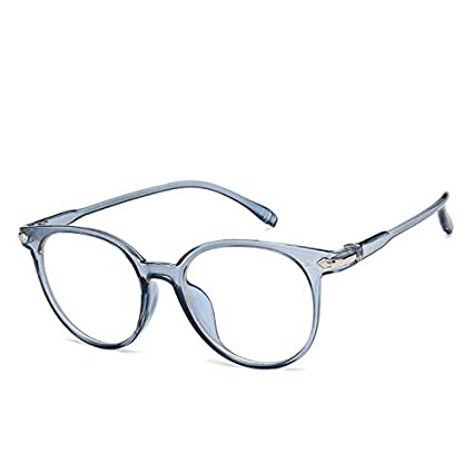 668d53182db Qjoy Women Spectacle Optical Frame Glasses Clear Lens Lady Vintage Computer  Anti-Radiation Eyeglasses