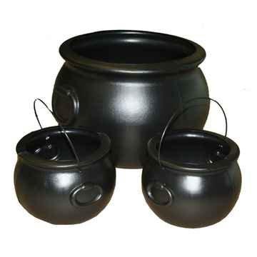 Cauldron 3pc Set Halloween Party Accessory