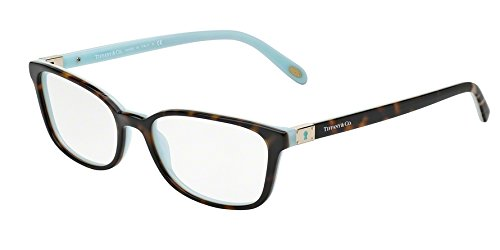 TIFFANY Eyeglasses TF 2094 8134 Havana/Blue - Eye Tiffany Glasses And Co