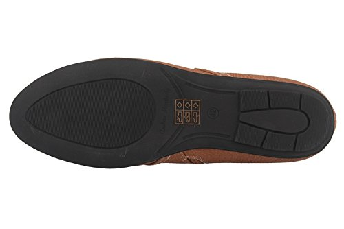 ANDRES MACHADO - Damen Stiefeletten - Braun Schuhe in Übergrößen
