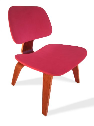 Red Seat Cover for Eames Plywood Lounge Chair
