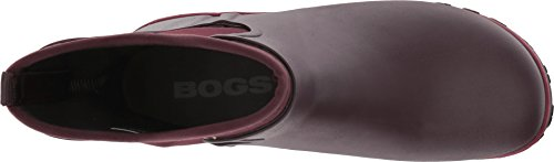 Bogs Boot Women's B Solid Slip Wine on Sauvie US 7 BCrqB