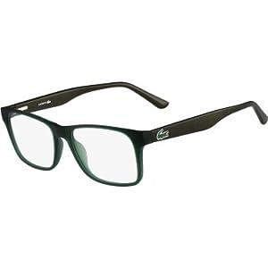 Lacoste L2741-315-53 Mens L2741 Green Matte Eyeglasses