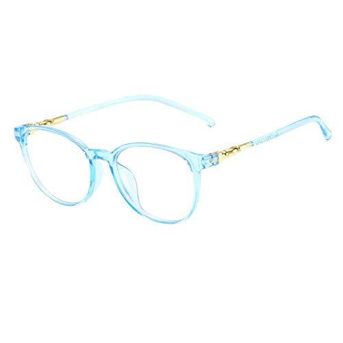 Unisex Stylish Square Non-Prescription Eyeglasses Glasses Clear Lens Eyewear Blue by WELCOMEUNI (Image #2)