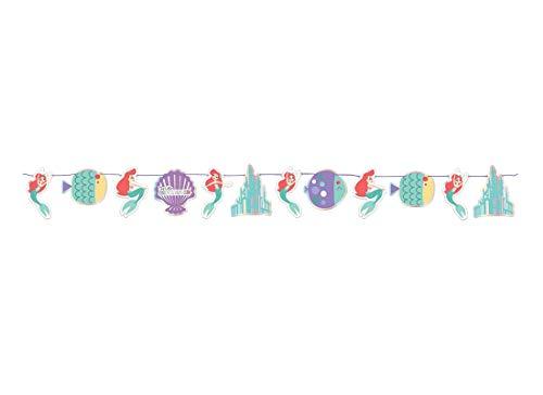 Kit-n-54-Decorazioni-Festa-Party-Ariel-Under-The-Sea-La-Sirenetta