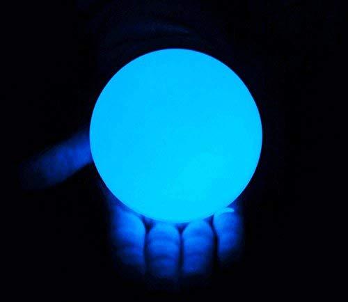 DSJUGGLING Clear UV Acrylic Contact Juggling Ball - 4'' - 100mm by DSJUGGLING (Image #4)
