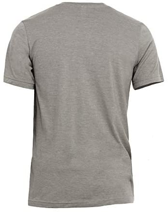 Husky Dog Silhouette Men's Modern Fit Fun Humor T-Shirt Printed Graphic Tee