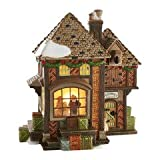 Department 56 Dickens' Village Fezziwig's Holiday Dance Lit Building, 7.13 inches