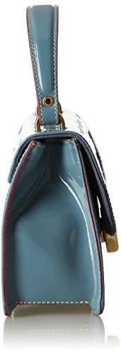 Arcadia Elisabeth, Borsa a Tracolla Donna, 7x15x18 cm (W x H x L) Blu (Avio)