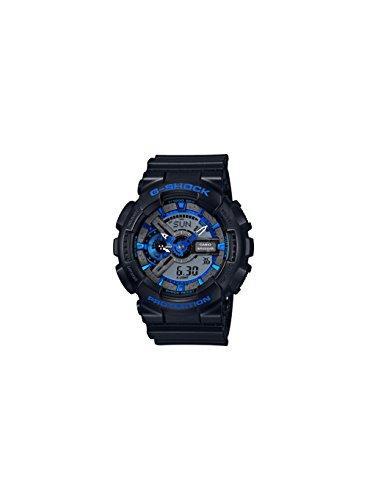 G-Shock GA-110 Blue Color Theme Stylish Watch - Black/Blue / One Size