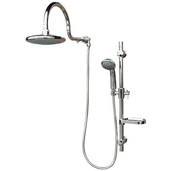 Superb Pulse 1019 Aqua Rain Shower Spa With Chrome, Chrome By PULSE Showerspas
