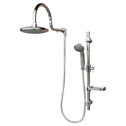 PULSE ShowerSpas Pulse 1019 Aqua Rain Shower Spa with Chrome, Chrome