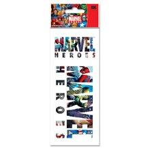 JOLEES Marvel 3-D Title Stickers, Heroes