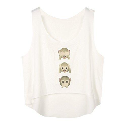 Fashion Monkey Casual Sleeveless T shirt product image