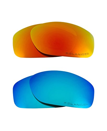 a17f8f81a51 Best SEEK Replacement Lenses for Oakley MONSTER DOG - Polarized Red Blue - Buy  Online in Oman.