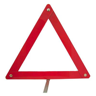 New Emergency Folding Car Road Way / Side Warning Triangle