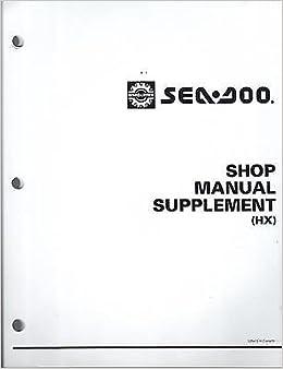 seadoo hx service manual