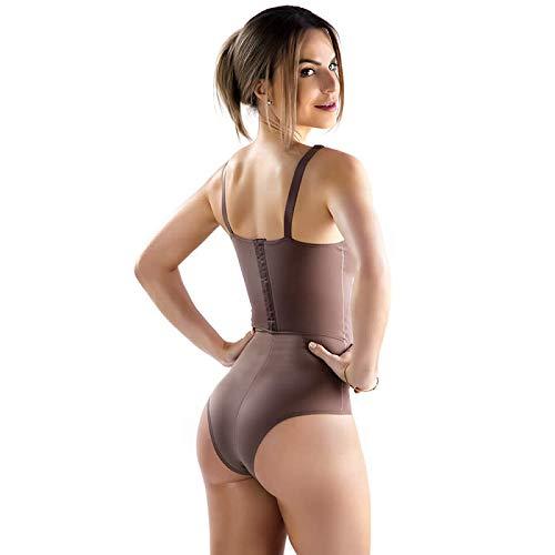 4f388569e Body Pós Parto Modelador Sem Bojo para Amamentação Castanho, Bege e Preto -  TV4282: Amazon.com.br: Amazon Moda