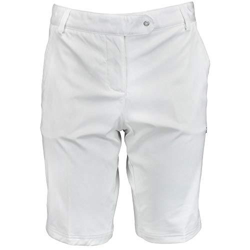 PUMA Golf NA Women's Solid Tech Bermuda Golf Short '14, White, -
