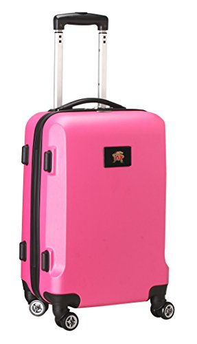 NCAA Maryland Terrapins Carry-On Hardcase Spinner, Pink by Denco