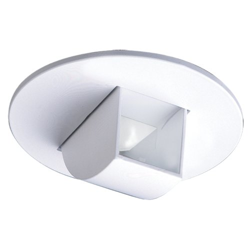 Halo Recessed 1497P 4-Inch Adjustable Mirror Trim with Scoop, White - Scoop Wall Washer