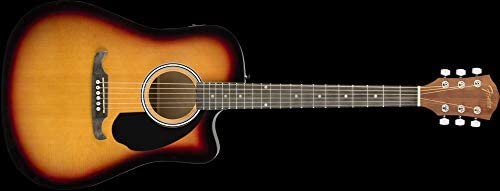 Fender FA-125CE SB · Guitarra acústica: Amazon.es: Electrónica
