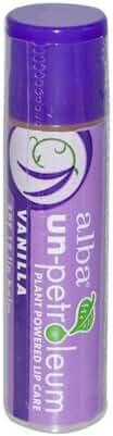 Alba Botanica Un-Petroleum SPF 18 Vanilla Lip Balm, 0.15 Ounce