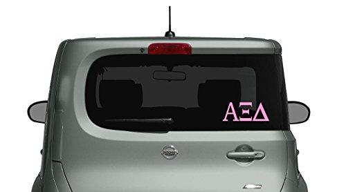 Alpha Xi Delta - Car, Truck Laptop, Macbook Decal Sticker (3 Pack) (Ksu Car)