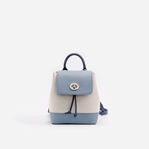 Simple Cartable Mini Bandoulière Beige Summer Blue à CTao Sac Sac Lady New Joker xw8SOzq0