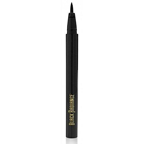 Black Radiance Fine Line Liquid Eyeliner Pen, Fine Black 1 ea (Pack of 33)