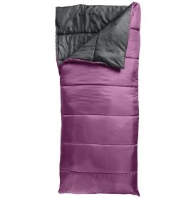 Field & Stream Recreational 50° Sleeping Bag(Amethyst) (Dress Amethyst Layer)
