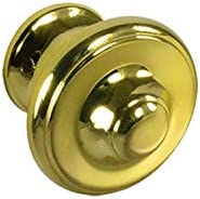 #652 CKP Brand Cabinet Knob, Polished Brass