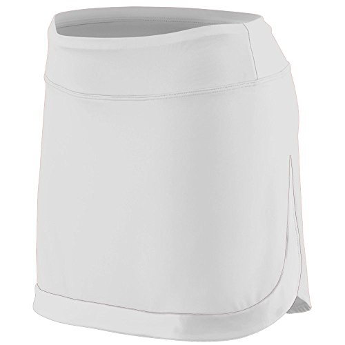 Augusta Sportswear Women's Action Color Block Skort M White/White