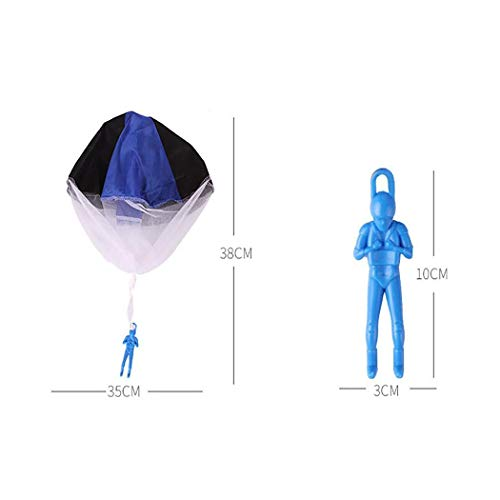 Caiuet Cartoon Soldier Shape Parachute Toys Kids Outdoor Fun Game Kites by Caiuet (Image #5)