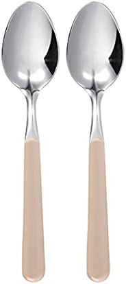 Excèlsa Trendy Pack of 2 Cream Table Spoons